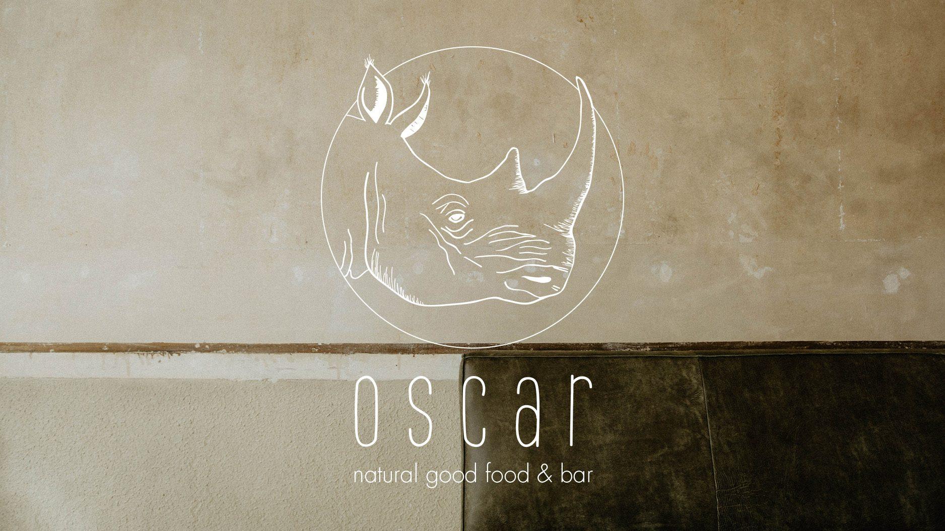 Oscar food and bar Koblenz Brand Design
