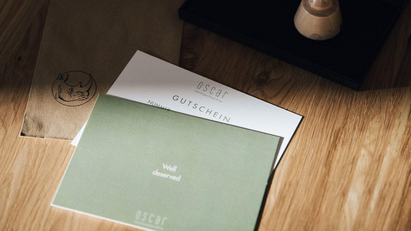 Hey.u Creative Oscar food and bar Koblenz Brand Design