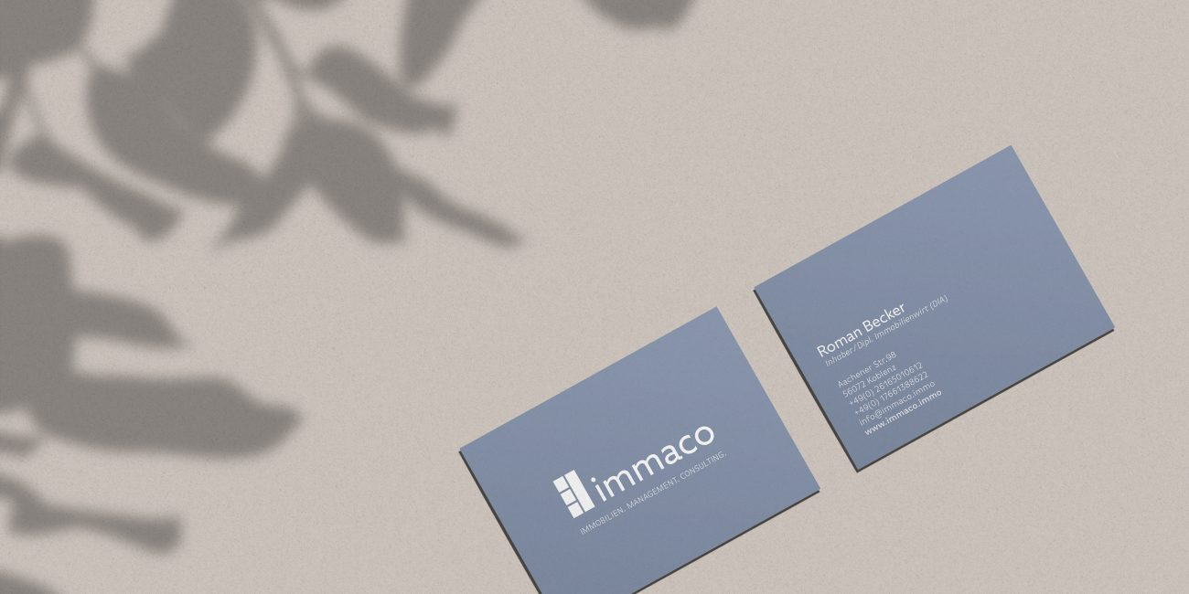 Immaco Branding Logodesign Hey.u Creative Koblenz