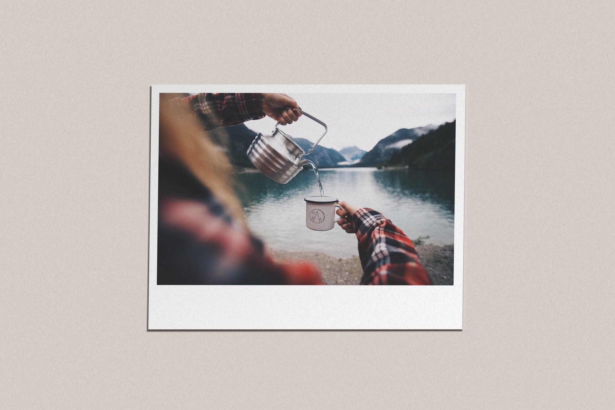 The Camper Diaries Redesign Polaroid