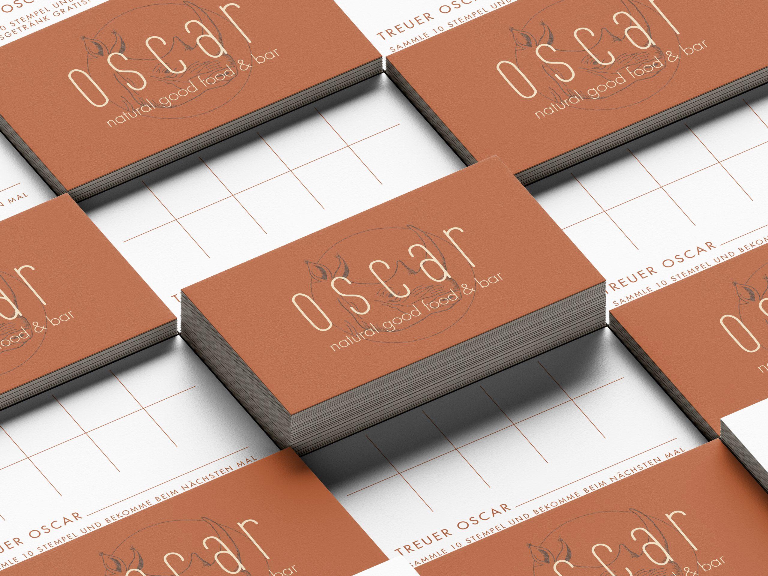 Hey.u Creative Oscar food and bar Brand Design